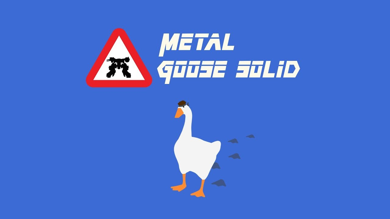 Metal Gear Solid Becomes Metal Goose Solid in This Dreams Creation