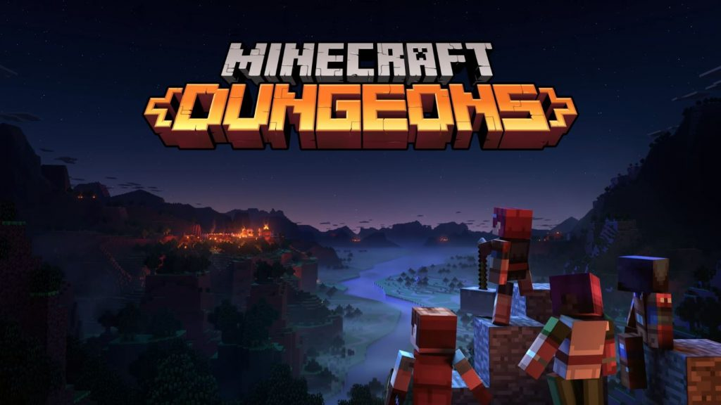 Minecraft Dungeons Nintendo Switch PS PS5 Xbox One Crossplay Cross Play