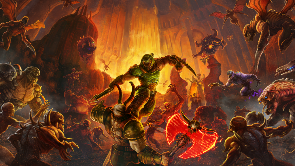 Xbox Game Pass Twitter Account Possibly Teases Doom Eternal As the Next Addition