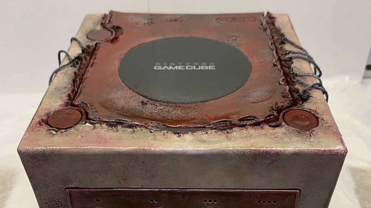 This Fleshy GameCube is the Stuff of Nightmares