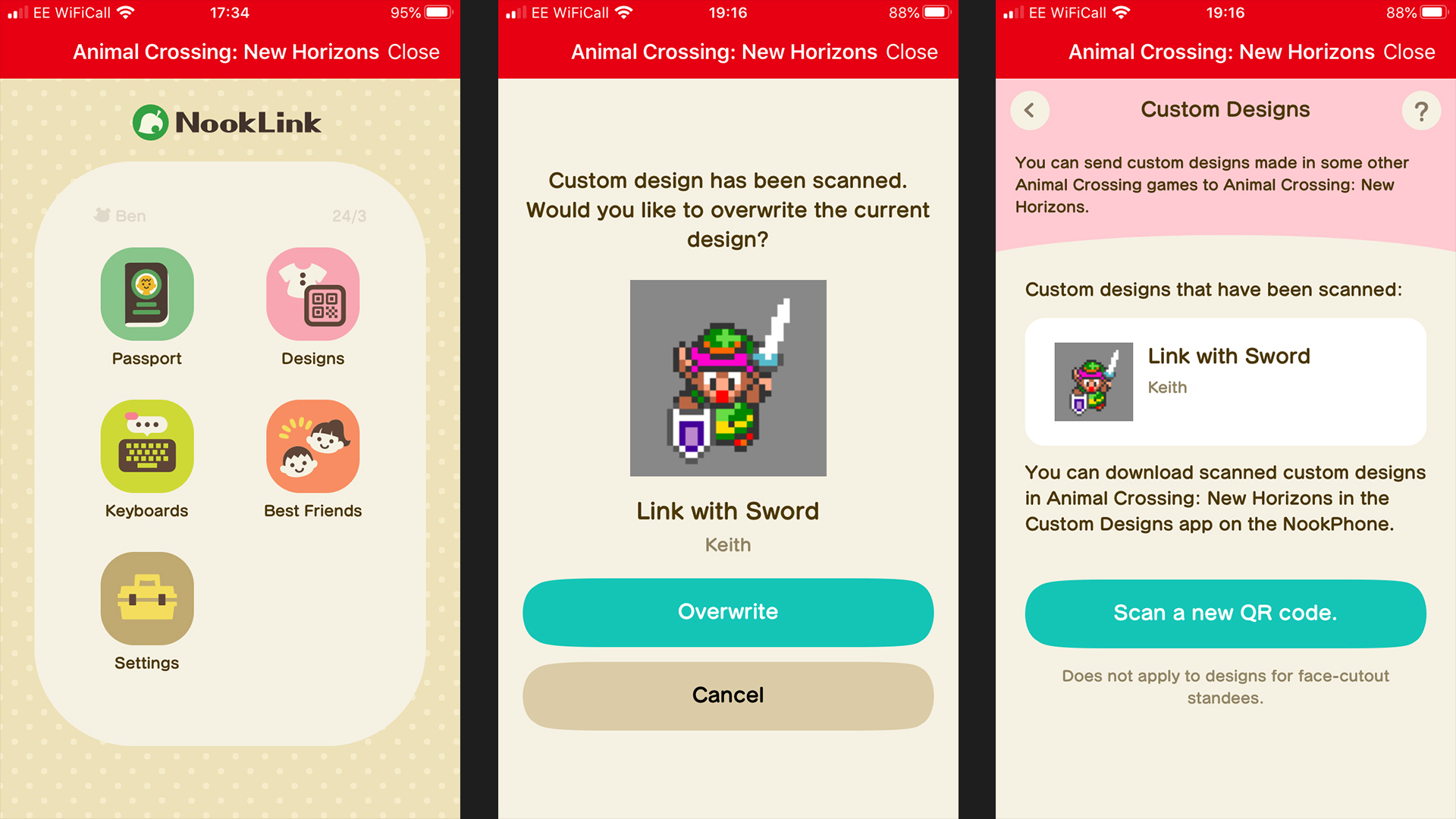Animal Crossing New Horizons How To Scan Qr Codes And Import Images
