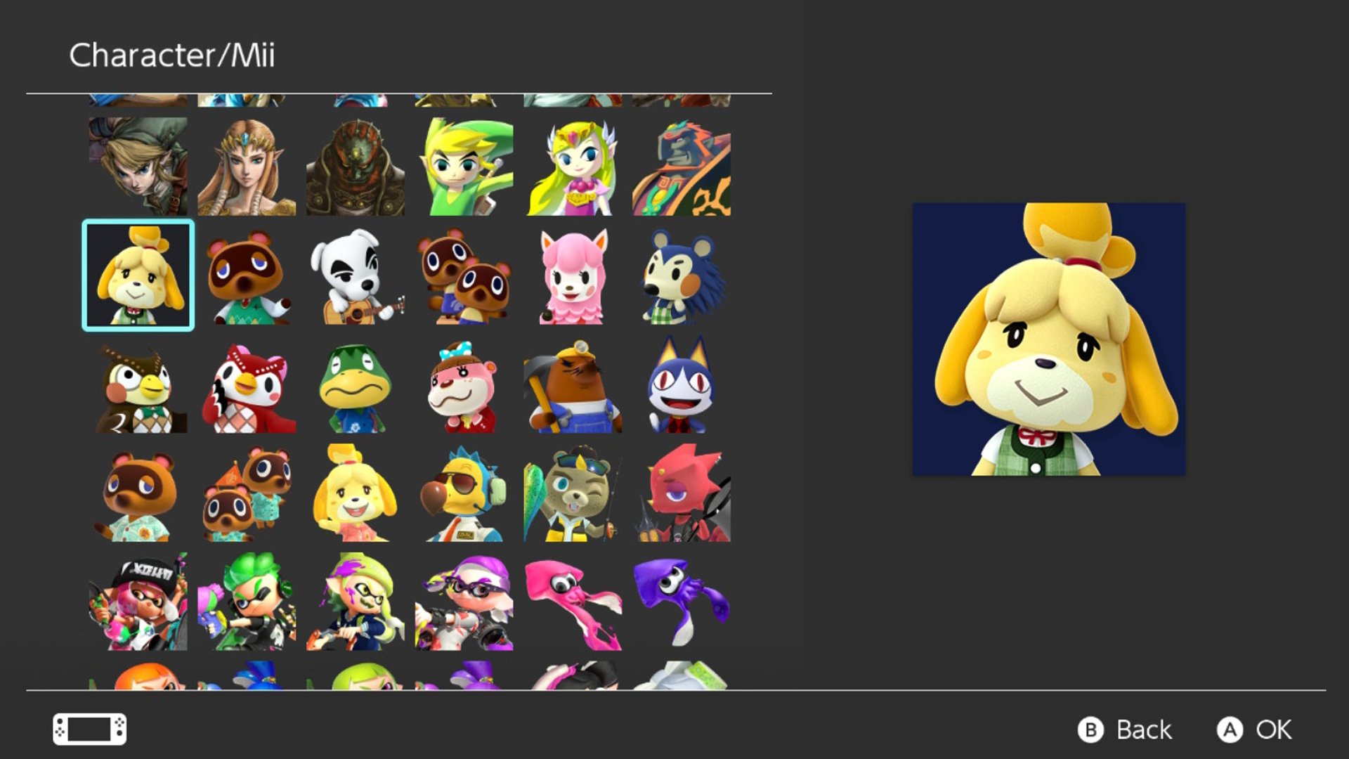 Nintendo Switch firmware update 10 character icons animal crossing