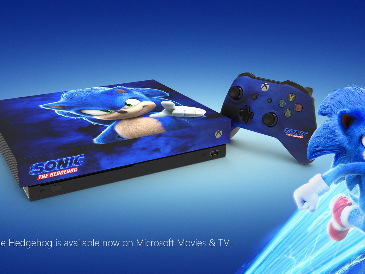 Xbox Is Giving Away A Sonic The Hedgehog Xbox One X It S Very Blue