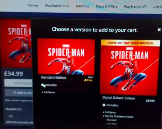 Spider-Man Free on PS Plus in June