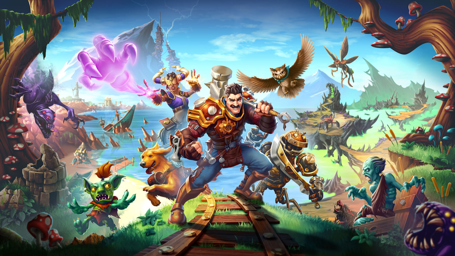 Torchlight 3 Switch, Echtra, PC, Early Access