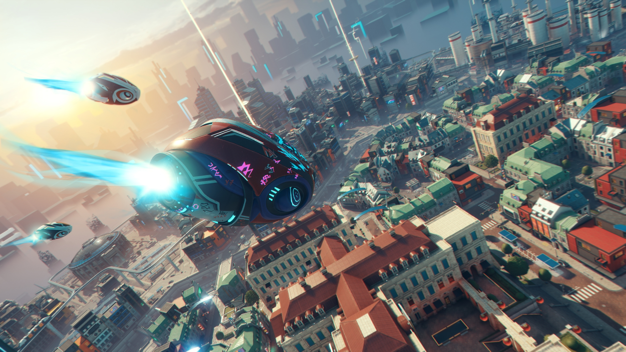 """Hyper Scape Creative Director on Creating a """"Game as a Spectacle"""""""