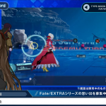 FateExtra Record stream gameplay battle system 4