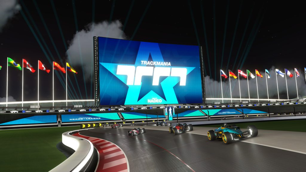 Epic Game Store, PC, Review, Trackmania, Trackmania Nations, Ubisoft, Ubisoft Nadeo, UPlay