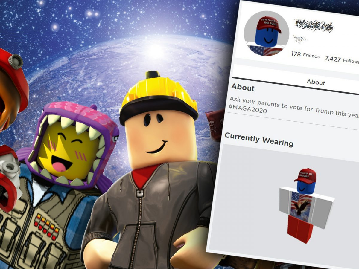 Over 1000 Roblox Accounts Hacked By Donald Trump Supporters