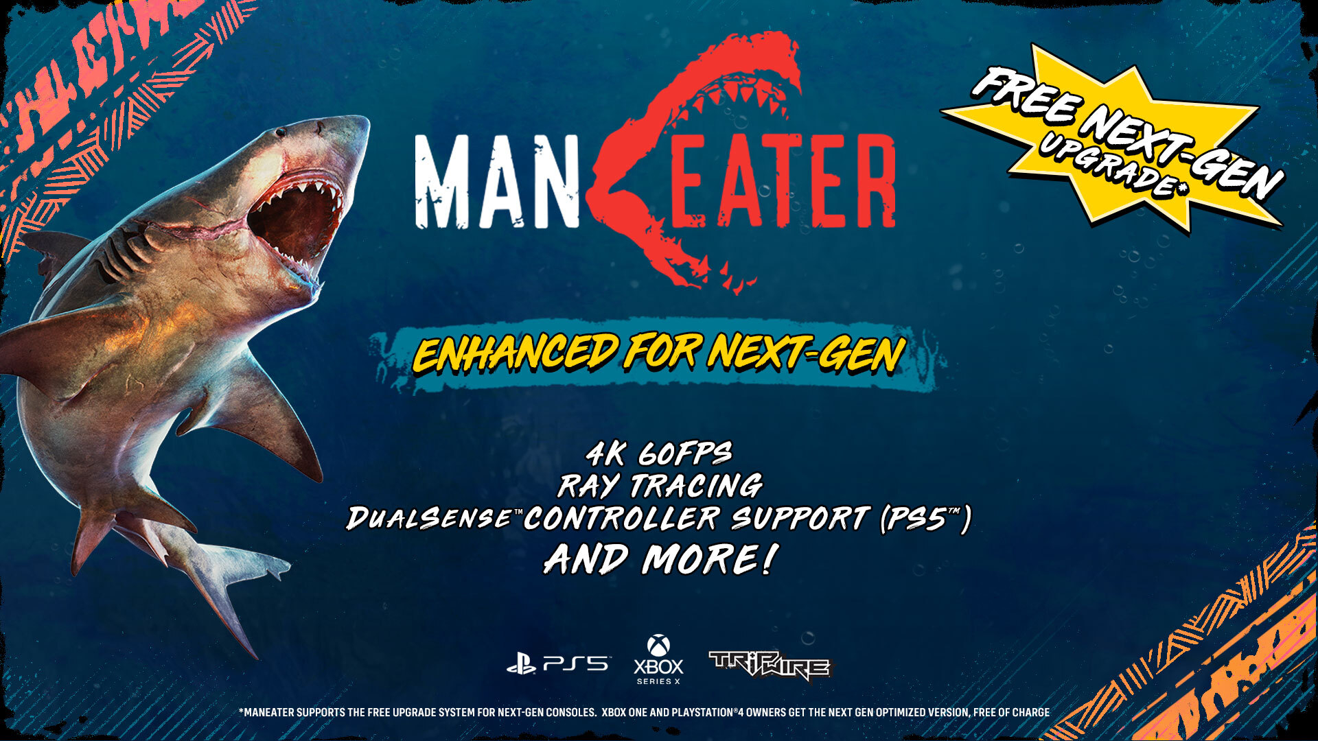 Maneater Gives a Reason to Get Back in the Water With Free Next-Gen Upgrade