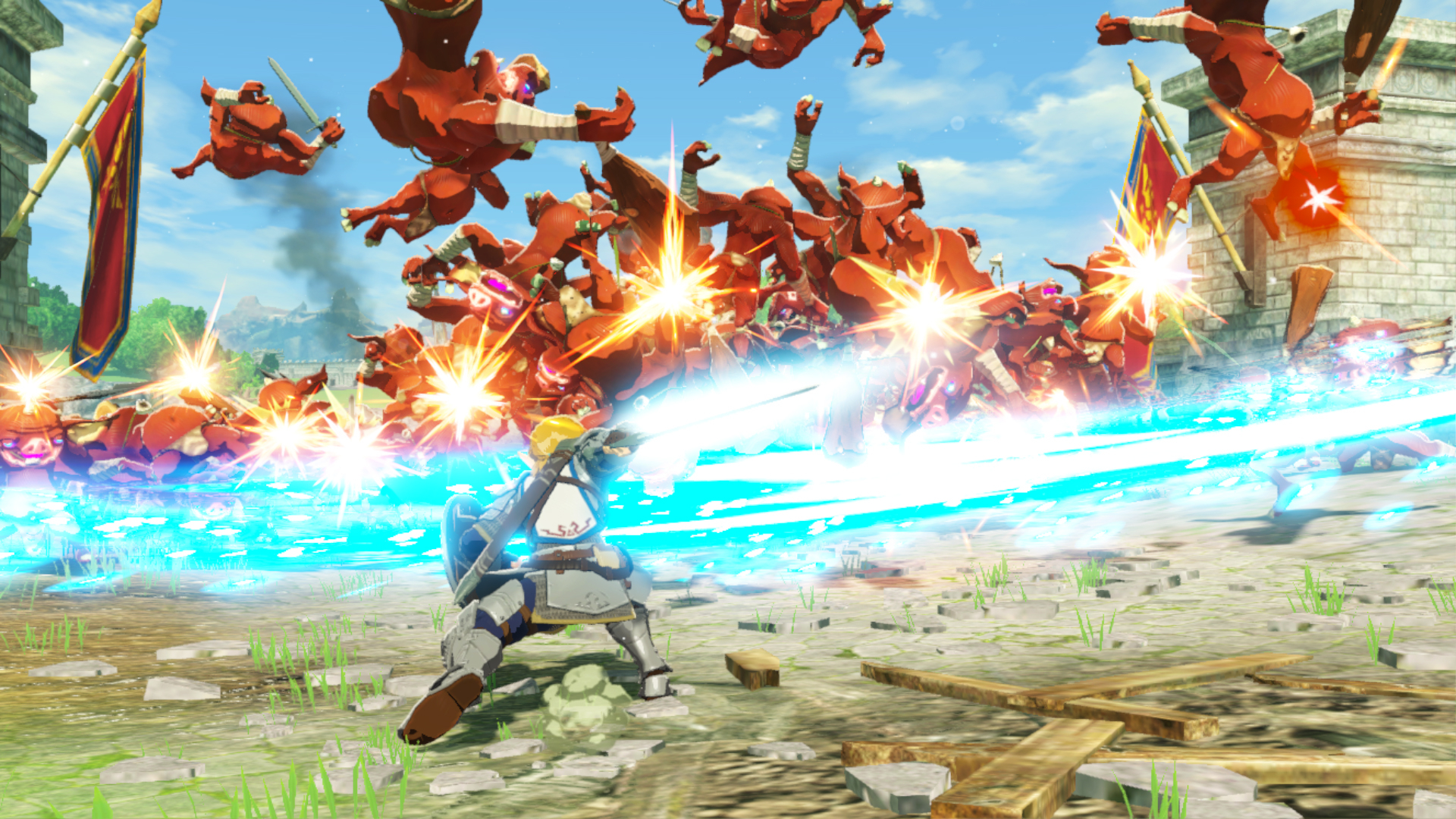 Hyrule Warriors Age of Calamity Reintroduces Our Hero Link
