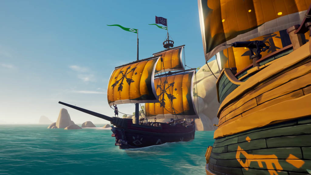 Sea of Thieves Sails of Union