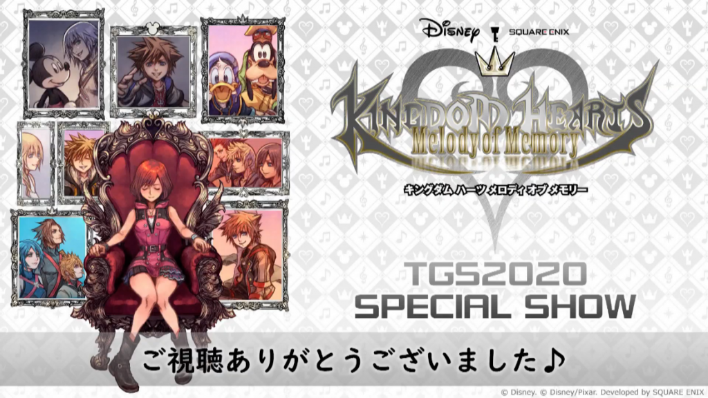 Kingdom Hearts Melody of Memory Will Receive A Demo In October