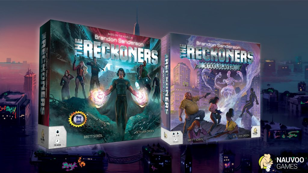 The Reckoners Steelslayer, board game