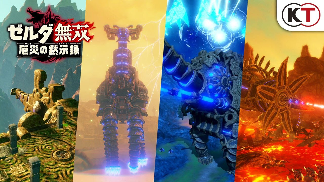 Hyrule Warriors Age Of Calamity New Trailer Reveals Playable Divine Beasts
