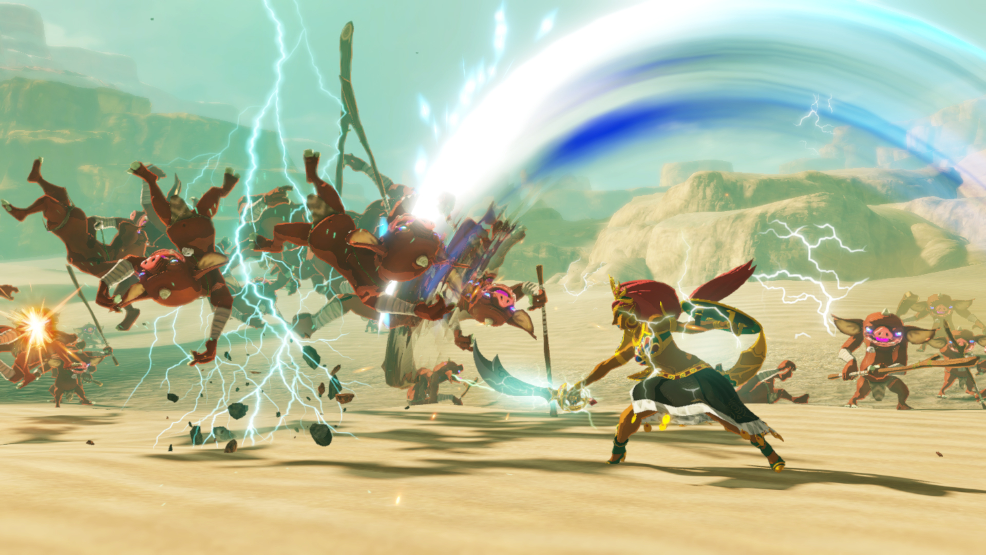 Hyrule Warriors Age Of Calamity Deep Dive Shows Off Urbosa Zelda And Impa