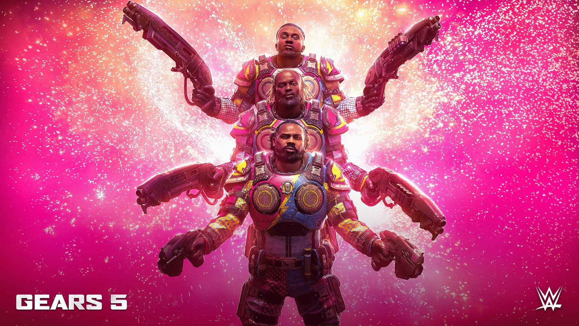 Gears 5 Adds WWE's The New Day as Playable Characters via DLC