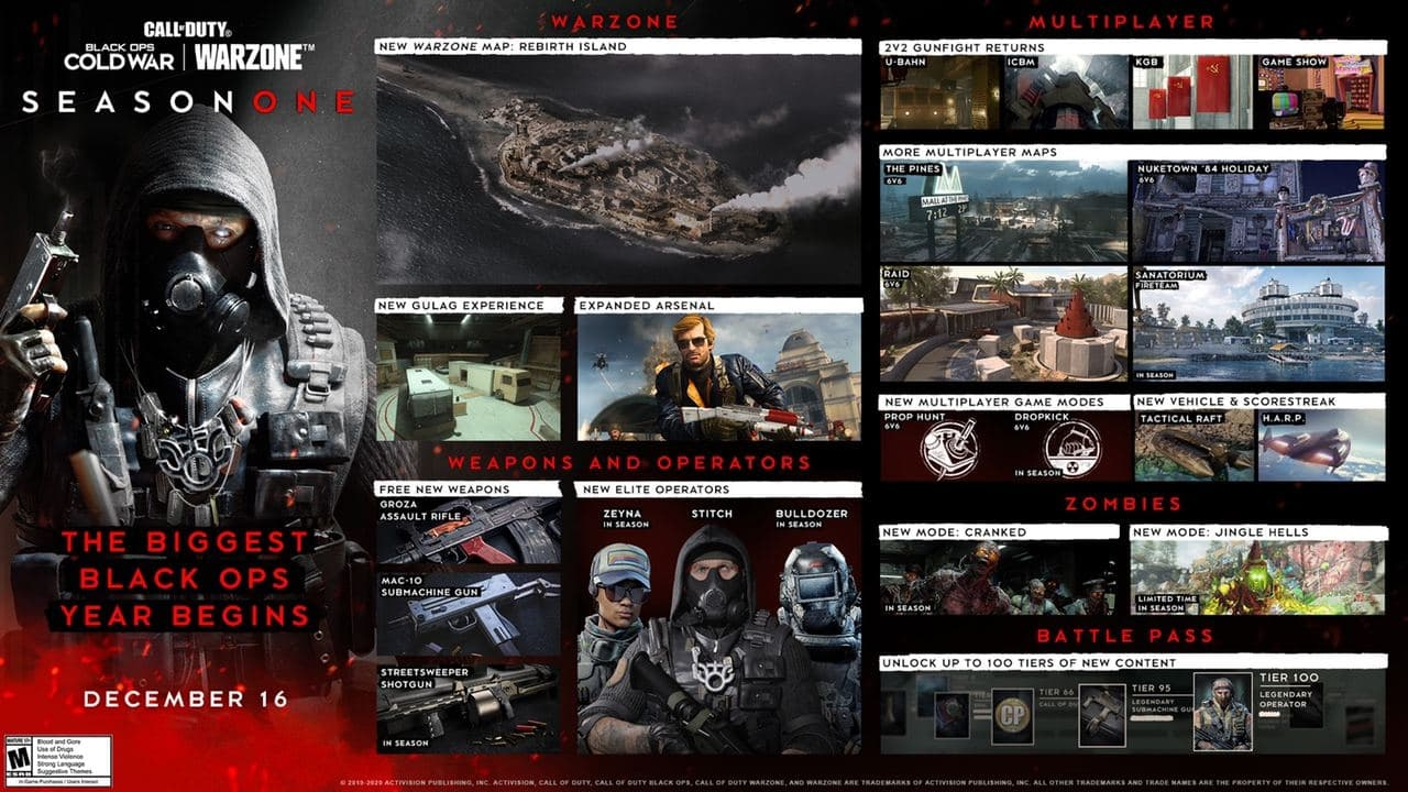 Call of Duty Black Ops Cold War Season One