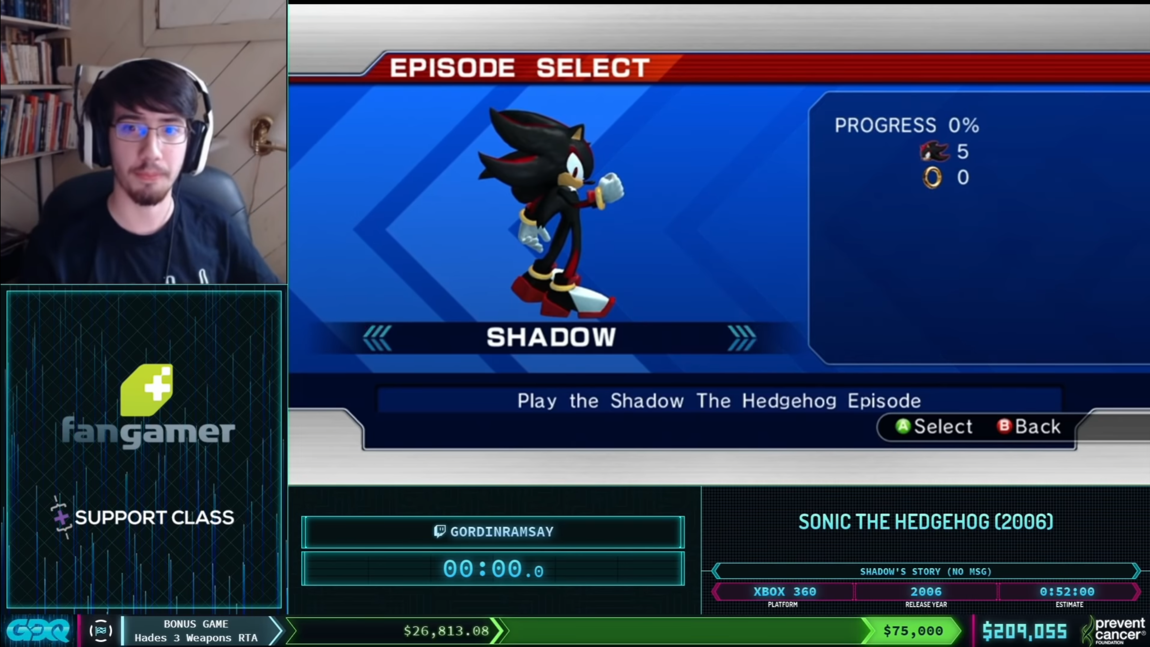 AGDQ 2021 Sonic the Hedgehog