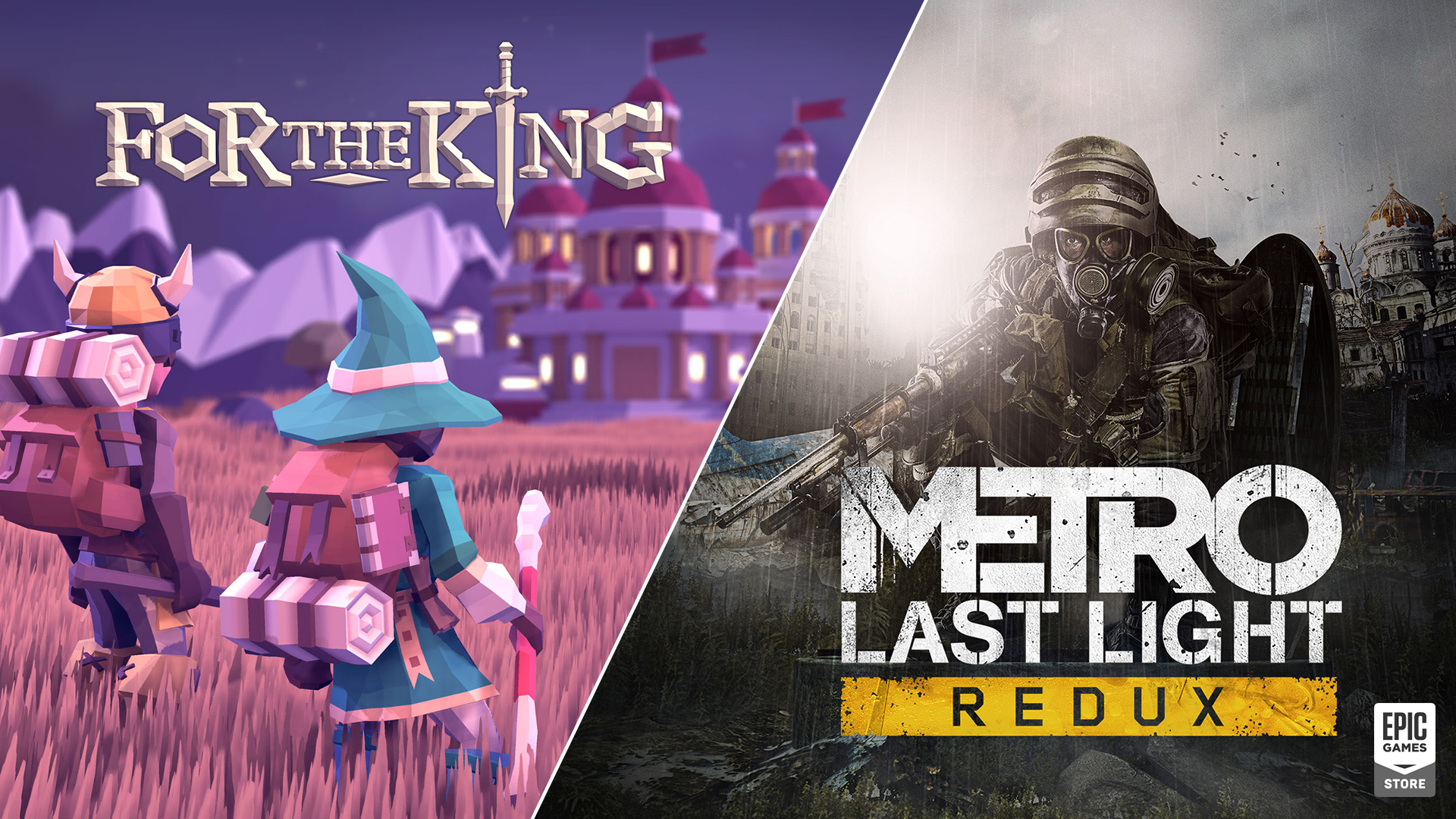 Metro: Last Light Redux and For the King are Epic Game Store's Latest Free Games
