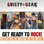 Guilty Gear Strive 15 characters playable initial roster