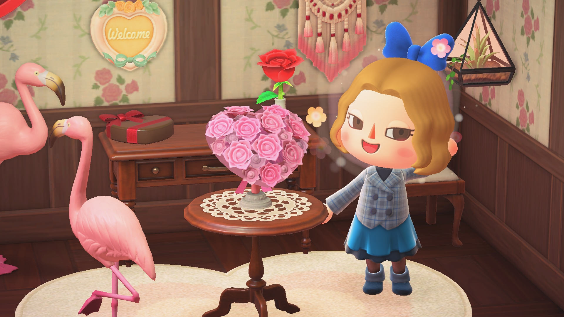 Animal Crossing Valentine's Day Sees Villagers Shower You With Gifts - DualShockers