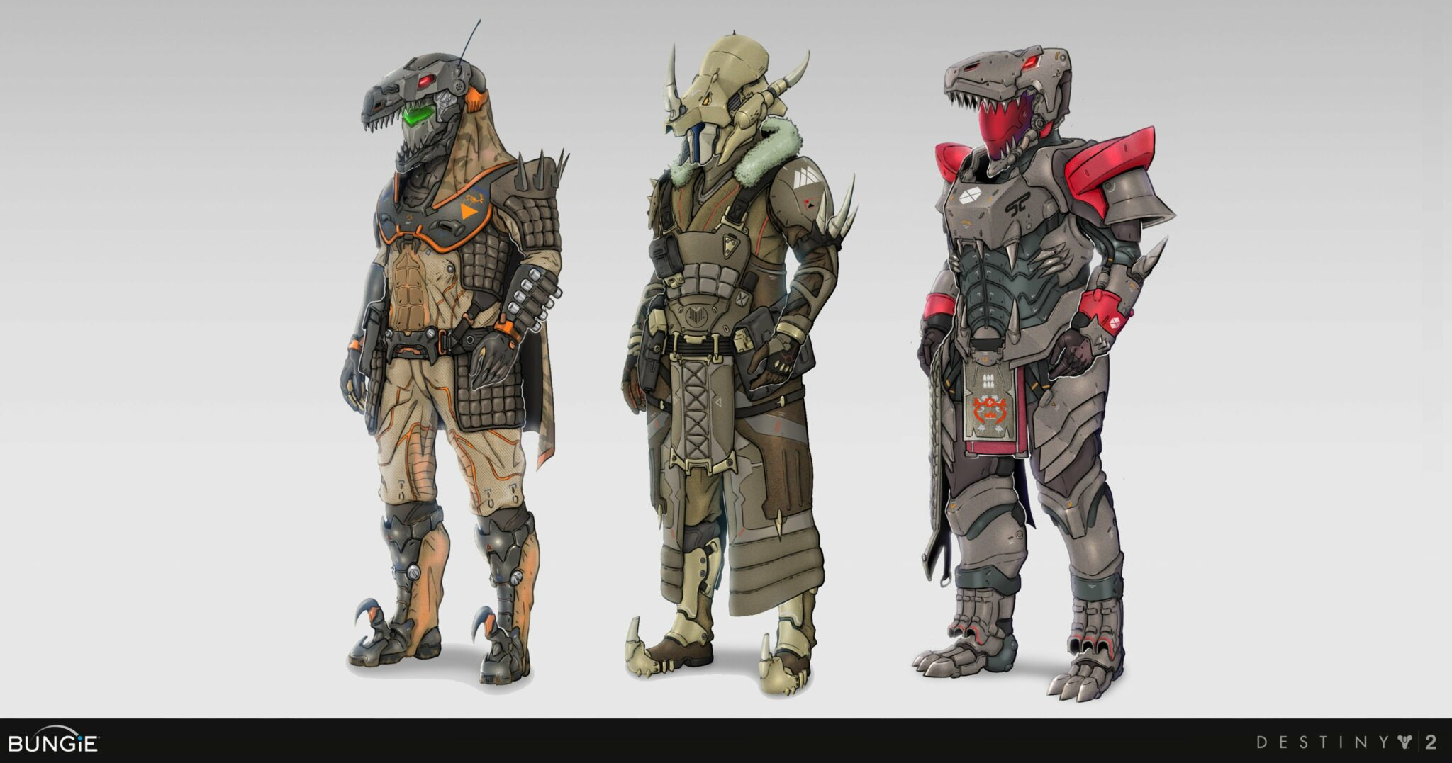 Destiny 2 Dinosaur Armor Vs. Monster Armor, Which One You Vote For?