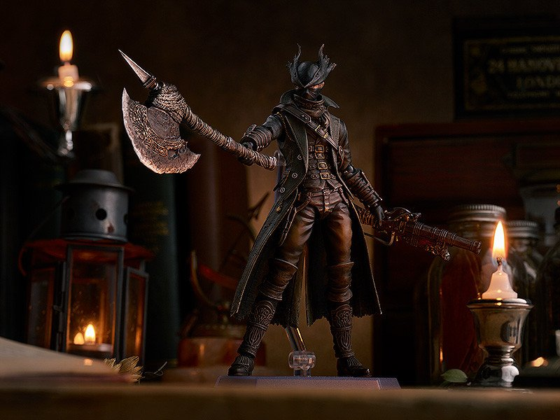 New Bloodborne Hunter Figma Features a Host of Deadly Weapons
