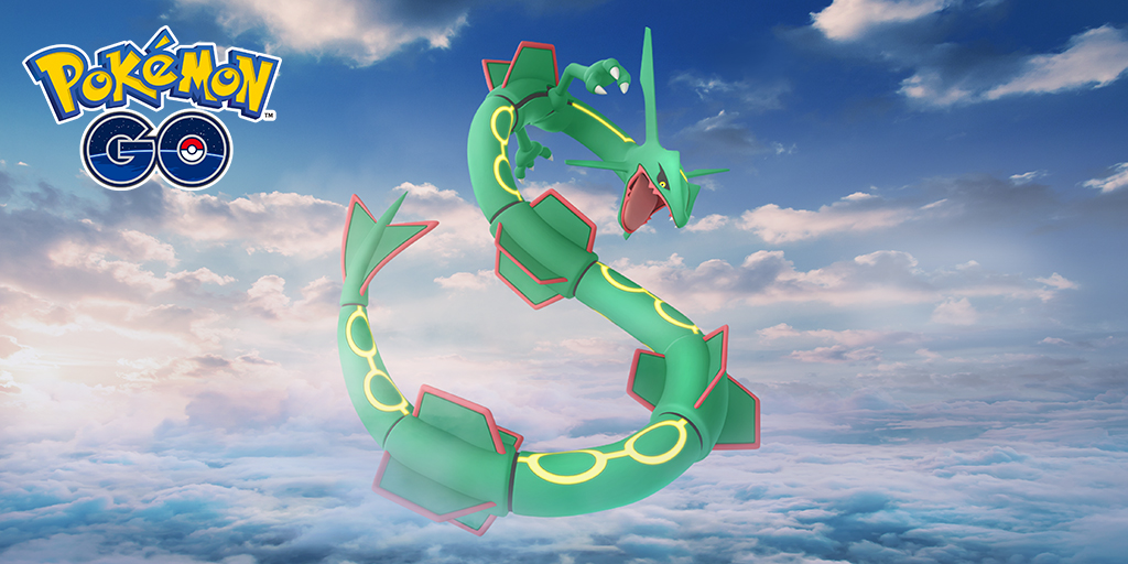 what are the chances of getting a shiny rayquaza weakness pokemon go