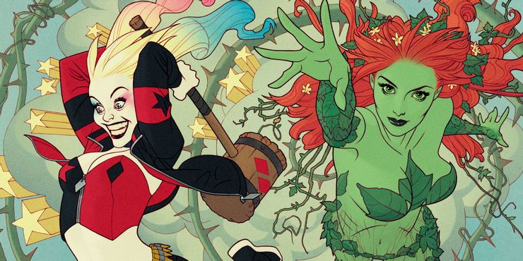 Harley Quinn and Poison Ivy DC Comics