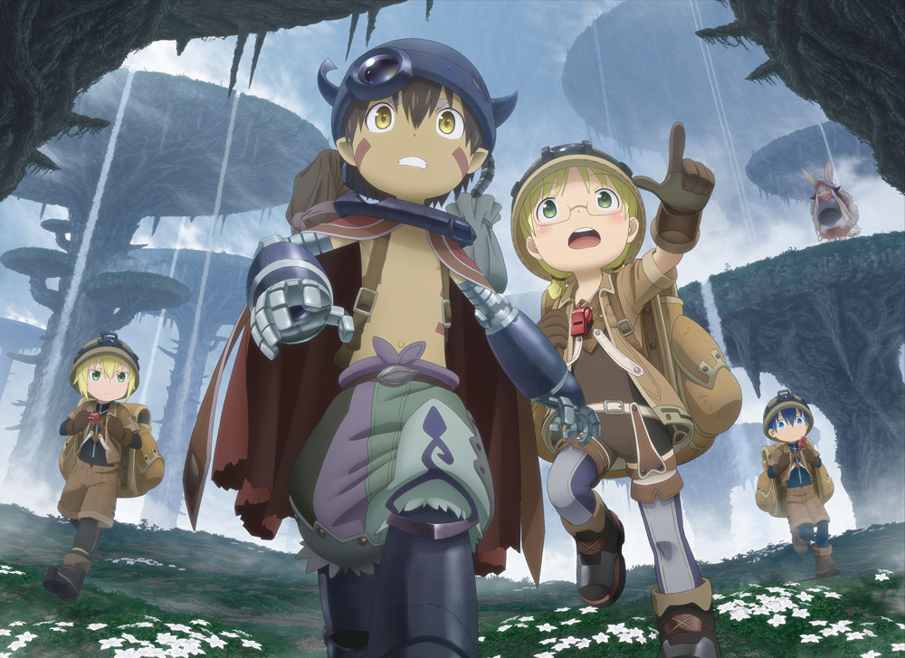 Made in Abyss Action RPG on Switch, PS4, PC key visual