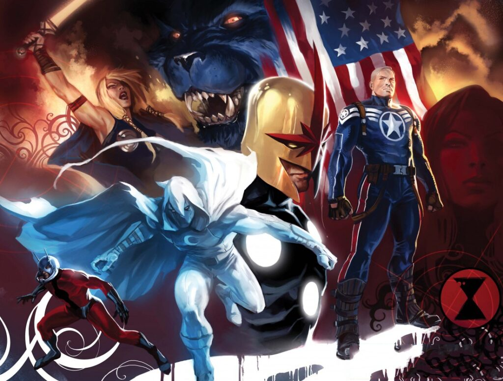 Moon Knight and Avengers
