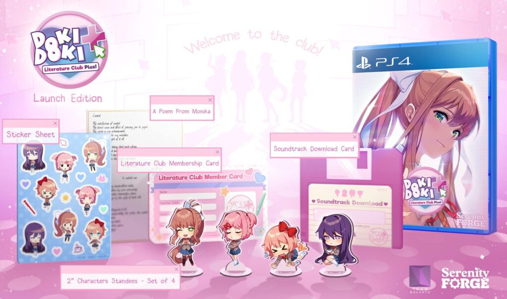 DDLC Plus Limited Edition preorder guide PS4