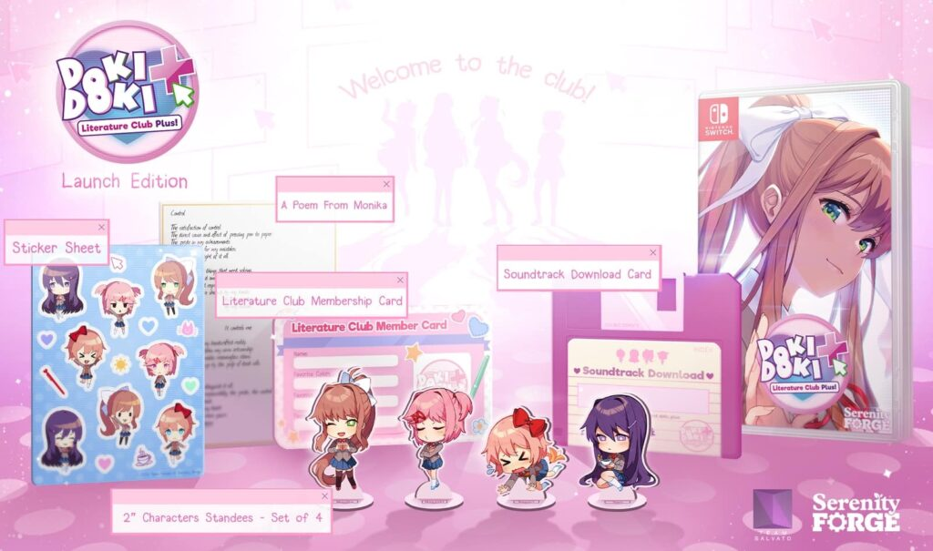 DDLC Plus Limited Edition preorder guide Switch