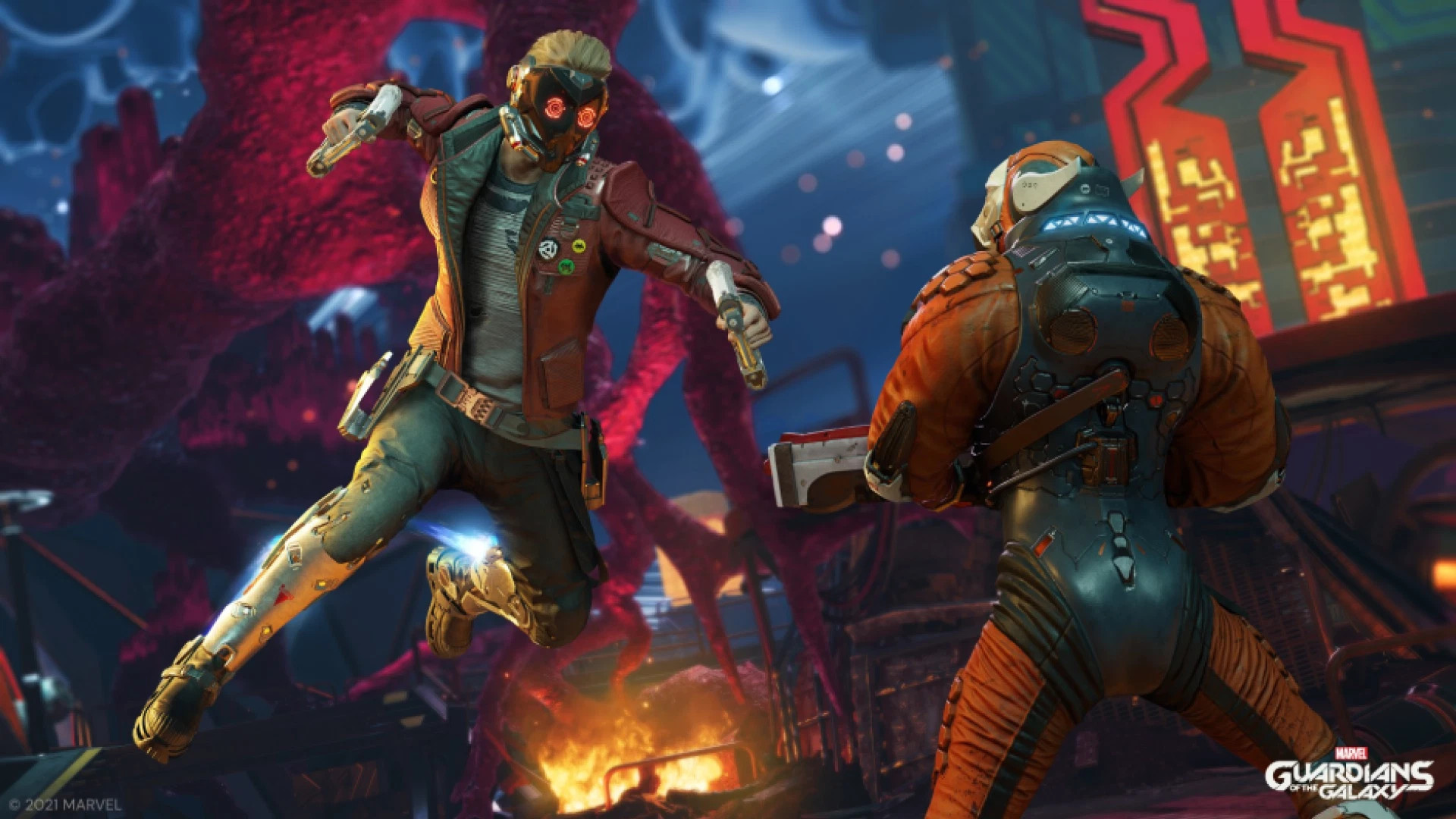 Guardians of the Galaxy game Star-Lord