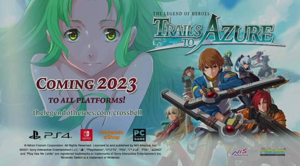 Trails to Azure English release official