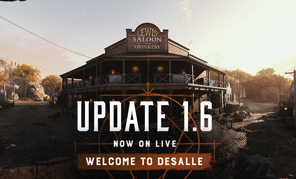 Hunt Showdown Update 1.6 Patch Notes (July 20, 2012) – DeSalle Map