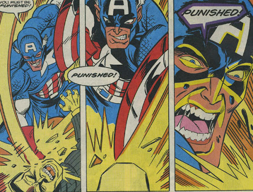 what if the punisher captain america